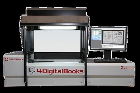 DL Mini Robotic Book Scanner