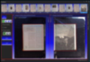 real time preview of book scanning software