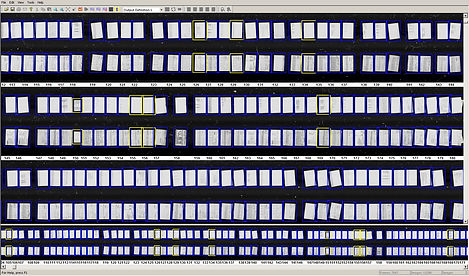 ribbon scanning screen capture