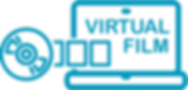 virtual film logo