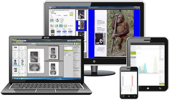 various imaging software