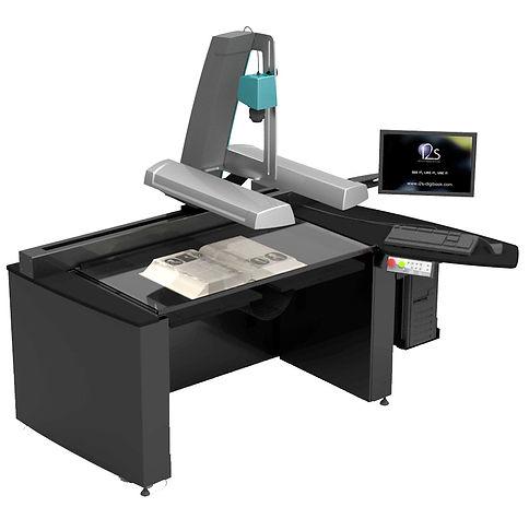 i2s QUARTZ A1 HD Book Scanner