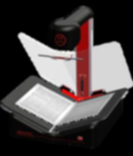 Portable book scanner