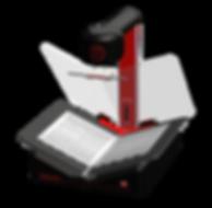 Gemini portable book scanner