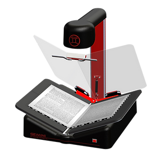 Gemini portable book scanner