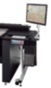 i2s production PC and Monitor for book scanner