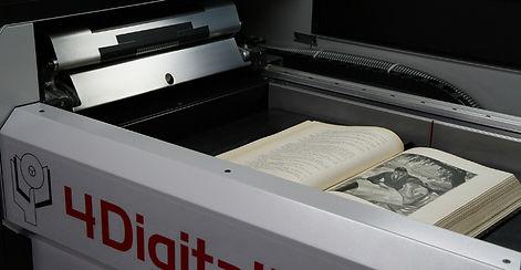 scanner capturing books