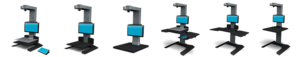 book scanner eScan configurations