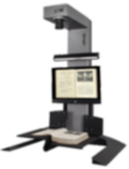 i2s eScan Open System book scanner