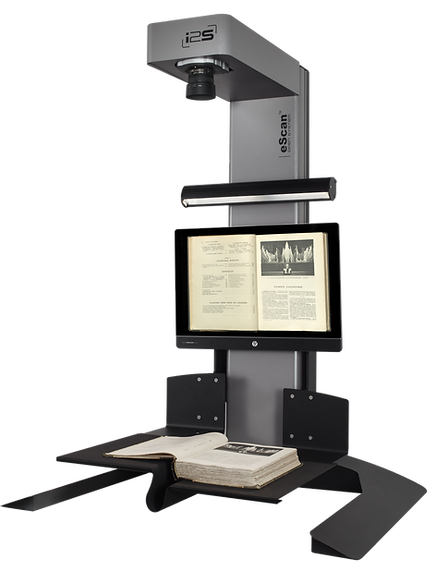 i2s eScan Open System book scanner