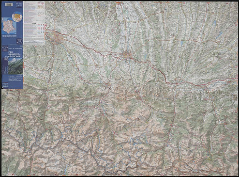 scan of large map