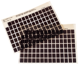 Step and Repeat Microfiche