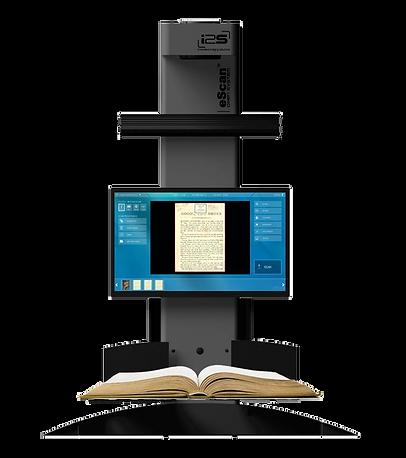 eScan public access book scanner