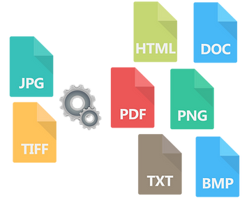 File Format Conversion Graphic
