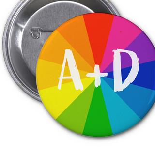 Art + Design Button Concepts