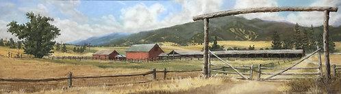 Original Pastel Landscape #5
