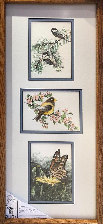 Framed Triple Print #4