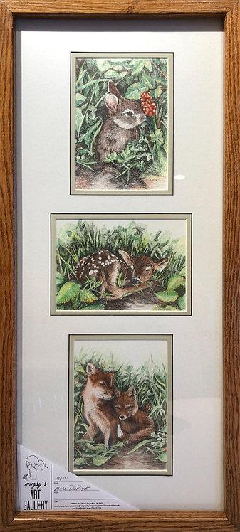 Framed Triple Print #2