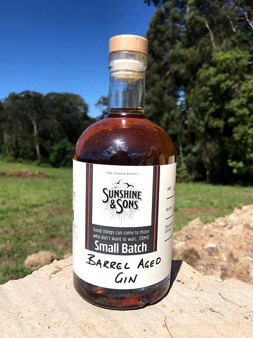 Barrel Aged Gin - Small Batch