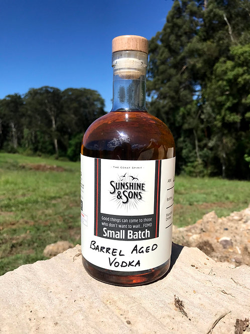 Barrel Aged Vodka - Small Batch