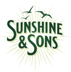 Sunshine&Sons_Primary_GradientLogo_GREEN