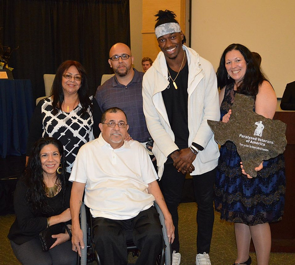 Paralyzed Veteran Surprises His Bride With A Dance At: Robert Griffin III Foundation