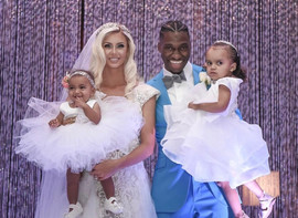 RG3 Family on Wedding Day
