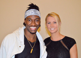 RG3 and wife Grete Griffin