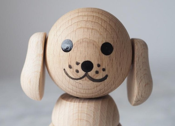 Puppy Wooden Stacking Toy