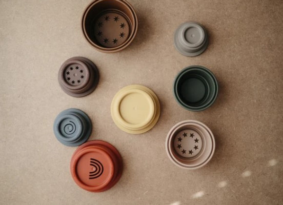 Stacking Cups Toy   Made in Denmark (Retro)