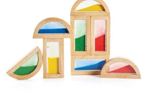 Sand Rainbow Blocks - 8 pcs