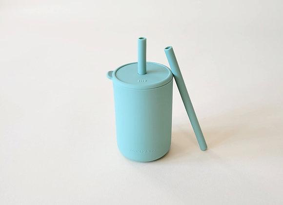 Tall Straw Cup - Seafoam