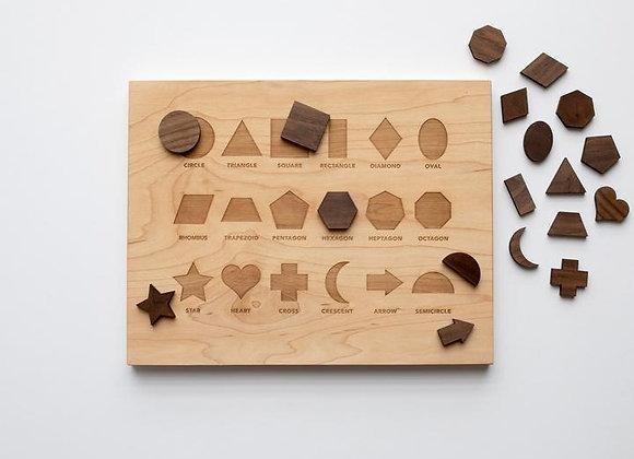 Wooden Shape Board