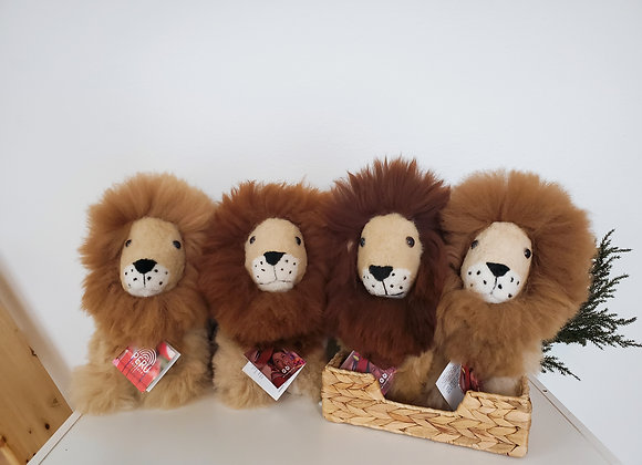 Alpaca Lion Stuffed Animals  (알파카 사자 인형)