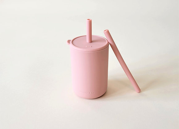 Tall Straw Cup - Rosewater