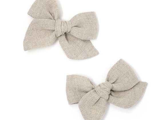 Mini Pinwheel Pigtails - Desert Sand (1pc)