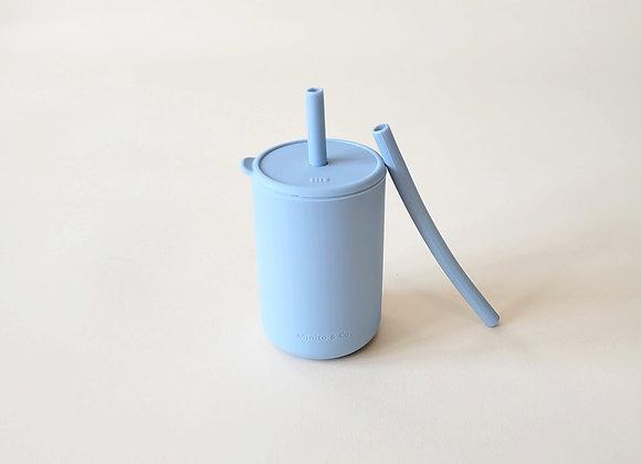 Tall Straw Cup - Cloud