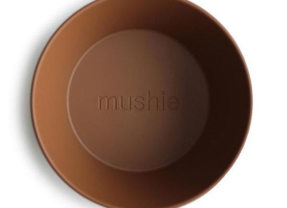 Round Dinnerware Bowl, Set of 2 (Caramel)