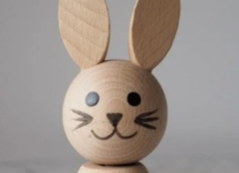 Bunny Wooden Stacking Toy