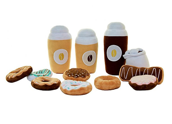 Coffee and Donut Play Set