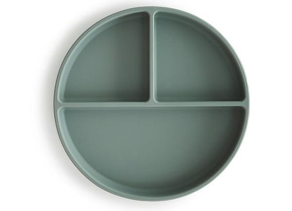 Silicone Suction Plate (Cambridge Blue)