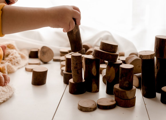 Tree Counting Blocks  - 70pcs