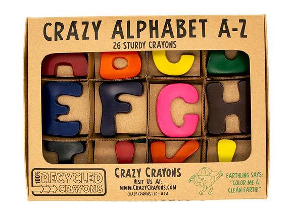 Alphabet Letters Crayon