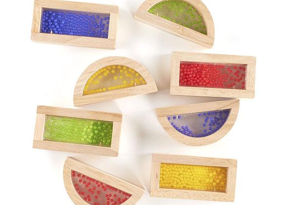 Rainbow Beads Blocks - 8pcs