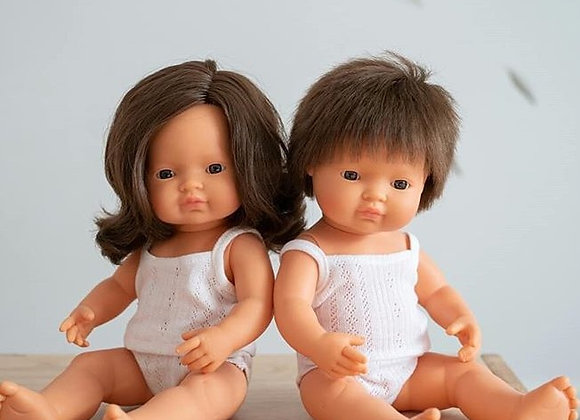 Brown Haired Dolls (Boy or Girl) 남아/여아