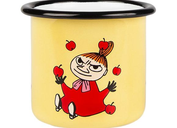 Moomin Enamel Mug Little My 2,5dl (250ML, 유아용)