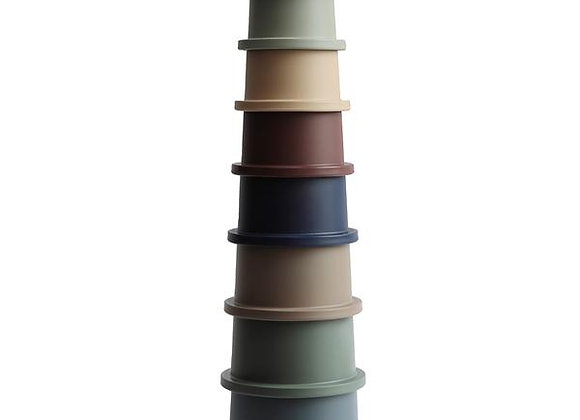 Stacking Cups Toy   Made in Denmark (Forest)