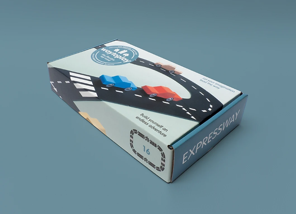Flexible Toy Road-Expressway