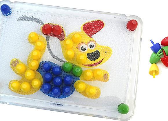 Multicolor Pegs - 100pcs