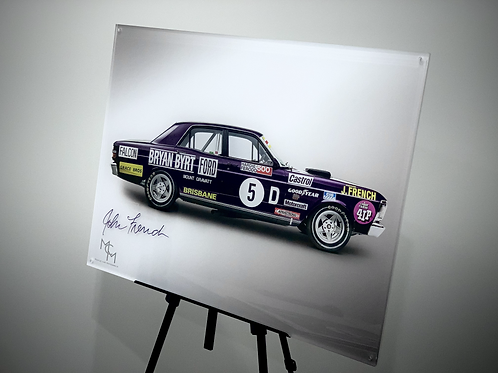 SIGNED by John French 1971 XY GT HO Phase III - Bryan Byrt